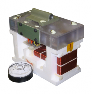 A fluxgate magnetometer as used in the CARISMA array.
